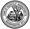 Official seal of Deerfield, Massachusetts