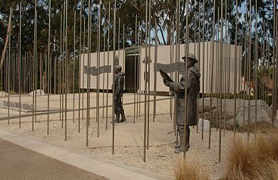 KOREAN WAR MEMORIAL IN CANBERRA, AUSTRALIA