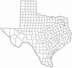 Location of Lakeport, Texas
