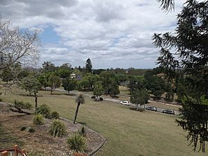 View south from Limestone Hill Lookout, Queens Park, Ipswich, Queensland.jpg