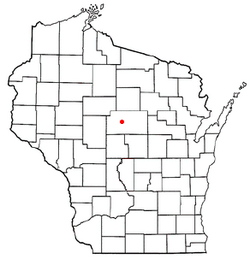 Location of Cassel, Wisconsin