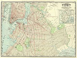 1897 Brooklyn map