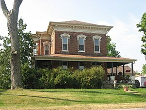The historic Christopher Souder House