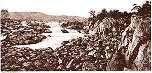 Falls of the Potomac Plate VIII WBClark 1897