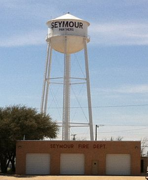 Seymour water tower larger