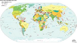World TLD Map