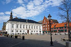Main square with town hall