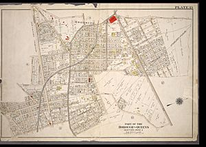 1909AtlasPlate13-Newtown-Ward2-Woodside-NYPL