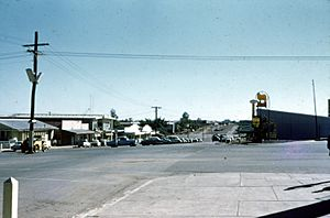 Mt Isa Street Scene in June 1962
