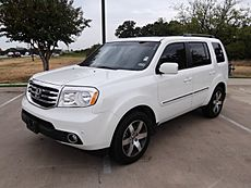 Post-Facelift 2012 Honda Pilot Touring