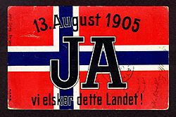 Postcard-Norway-flag-1905