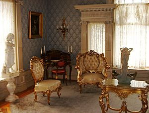 Roberson Mansion Parlor Room
