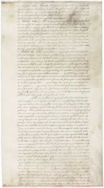 Articles of Confederation 7-9