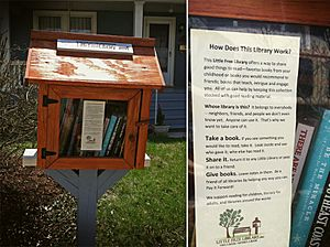 Harrisonburg's Little Free Library