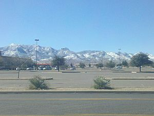 Huachuca Mountains in the Winter2