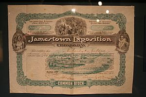 Jamestown Exposition Stock