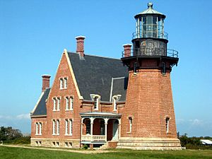 Lighthouse on Block Island, RI 02