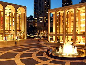 Lincoln Center Twilight