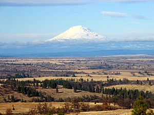 Mt Adams from south - Wasco County Oregon