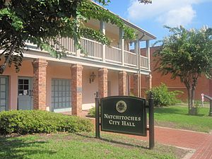 Natchitoches, LA, City Hall IMG 1972