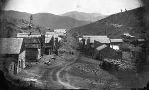Nevadaville, Colorado (circa 1860)