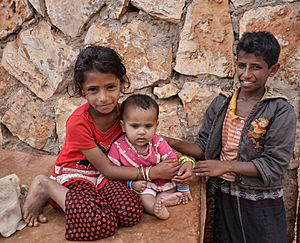 Socotri Children, Socotra Is (10942706844)