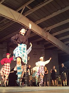 2012 Scottish Pavilion at Folklorama in Winnipeg