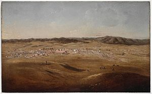 Bathurst , c.1847-57 painted by Joseph Backler a928569h