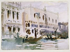 Brooklyn Museum - From the Gondola - John Singer Sargent