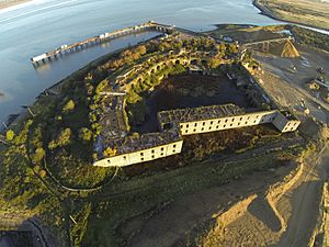 Cliffe Fort Aerial