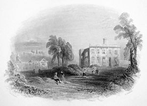 Dangan Castle, Co Meath, Ireland, 1840