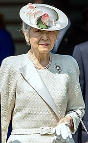 Empress Michiko cropped 20140424
