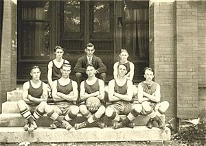 1922 Dickson, Tn. Basketball Team