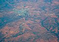 Aerial view of Cobar,New South Wales, 2009-03-06