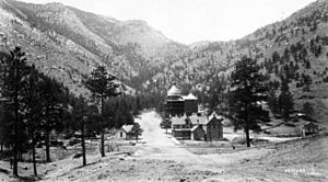 Cascade Canon - Cascade, Colorado - 1889-1890 - William H. Walker