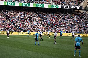 Del Piero, Sydney FC-Newcastle Jets