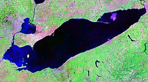 Lake Erie NASA