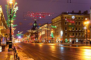 Night Nevskiy Flickr