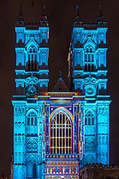 Westminster Abbey Lumiere London 2016