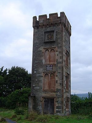 Ardencaple Castle - the remaining tower