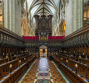 Gloucester Cathedral Choir 2, Gloucestershire, UK - Diliff