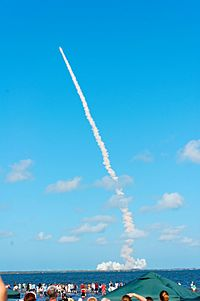 Launch of STS-124 as seen from Space View Park