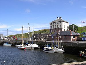 Yachts Eyemouth Harbour