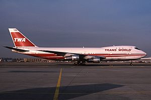 Boeing 747-131, Trans World Airlines (TWA) JP5896855