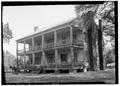 FRONT ELEVATION. - Atkinson-Till House, State Highway 59, Tensaw, Baldwin County, AL HABS ALA,2-TENSA,1-1