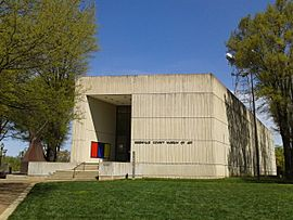 Greenville County Museum of Art building