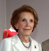Nancy Reagan later life