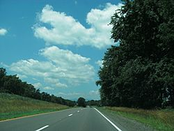 US Route 211 in Culpeper County