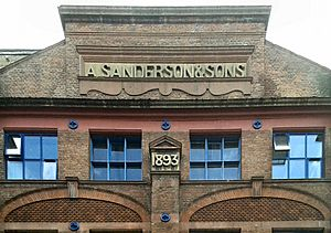 A Sanderson & Sons 1893 detail of Voysey House