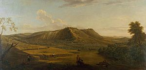 A View of Box Hill, Surrey 1733